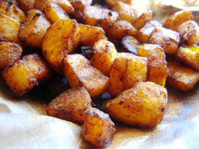 Spiced Sweet Plantain