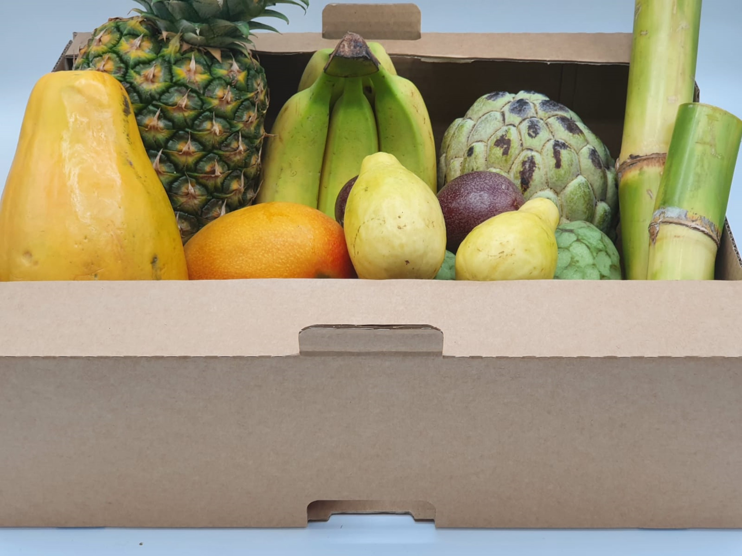 Exotic Delights Large Fruit Box